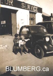 Henry Blumberg and his father Julius Blumberg.