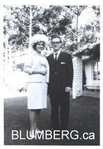 Henry and Marcia on their wedding day.
