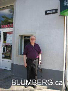 Henry Blumberg at Katolu Lelu