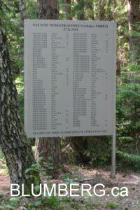 Grobina Memorial