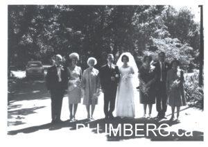 Henry and Marcia Wedding Photo.