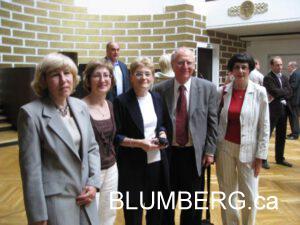 Irina Veinberga,Lena Polovceva, Rita Bogdanova, Henry Blumberg and Elena Shpungina.