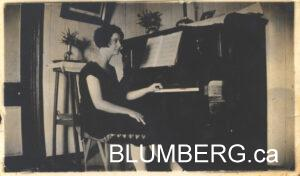 Ida Blumberg (nee Altschuler).