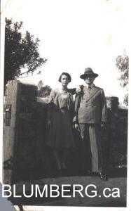 Ida and Julius Blumberg