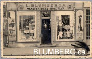 Leopold Blumberg in Jelgava