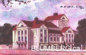 Libau Theatre Postcard
