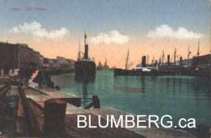 Liepaja Harbour Postcard