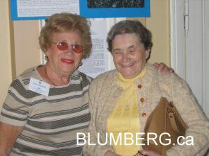 Jenny Sommer and Bella Blumberg